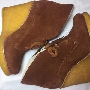 NWOB - Schutz Women's Camurcao, Rust Boots